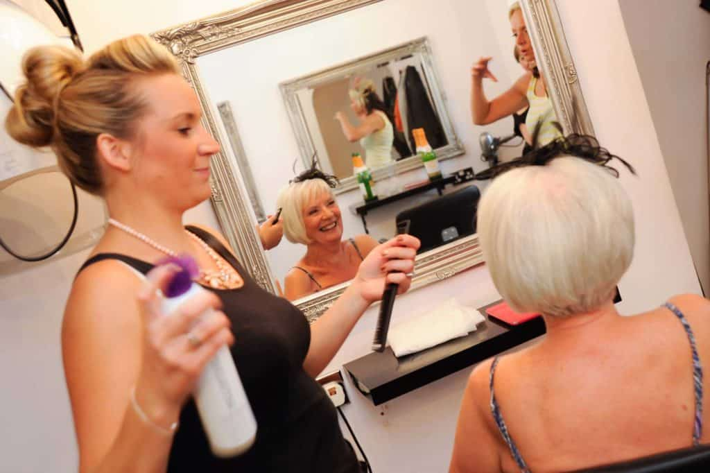 BRIDAL HAIR SALON KENT DEAL NEW CHEVEUX